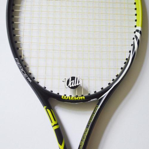 Logo/Name Dämpfer für den Tennisschläger
