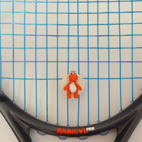 Vibrationsdämpfer Tennis Orange 3D