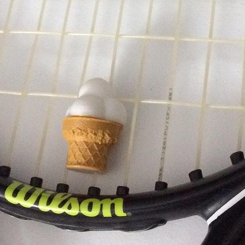 Dämpfer - Eis - Tennis