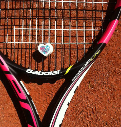"Tennis Vibrationsdämpfer  "" sweet-heart"""