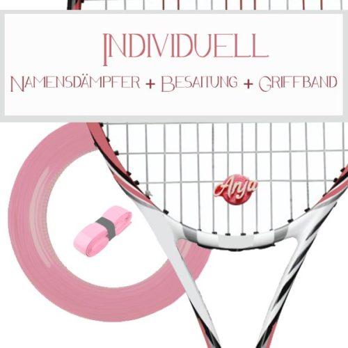 Vibrationsdämpfer Tennis - Dein Name - Namendämpfer oder Logo