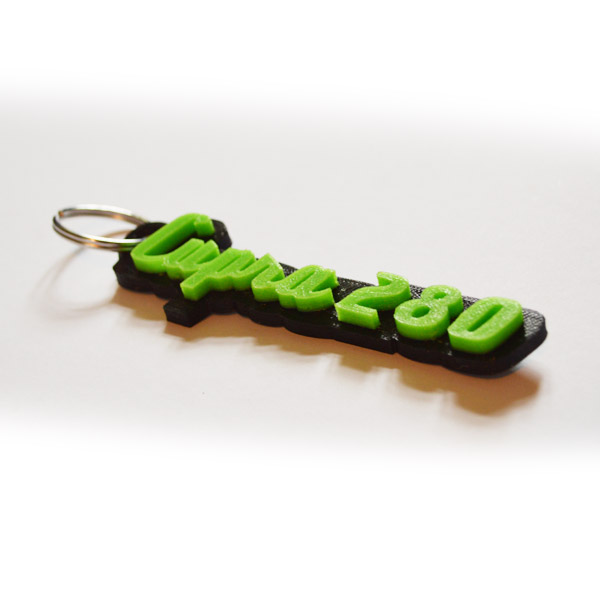 Schlüsselanhänger - Schriftzug