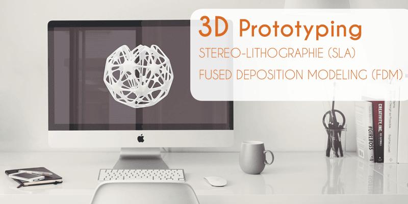 3D Druck Hamburg Stereolithografie Drucktechnik und Fused Deposition Modeling