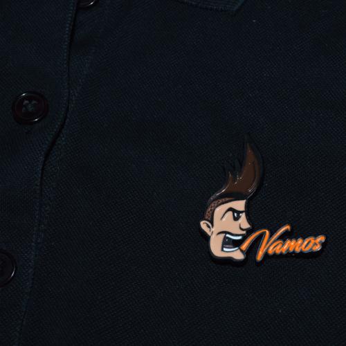 Vamos Pin / Brosche 3D / Design Sahar Kramper 3D Druck Design