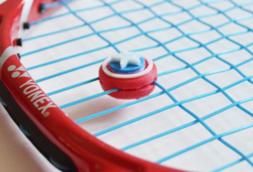 """Dämpfer Tennis """" Stern-Schild"""""""