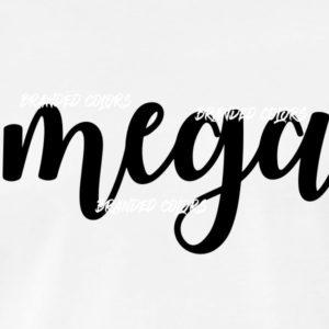 """""""Mega"""" Schriftzug /Damen T-Shirt"""